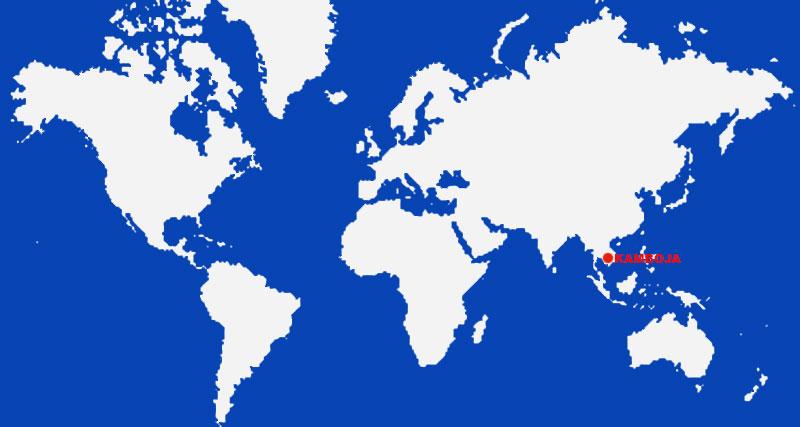 image: Cambodia Map Location
