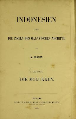 jurnal Indonesien oder die Inseln des Malayischen Archipel