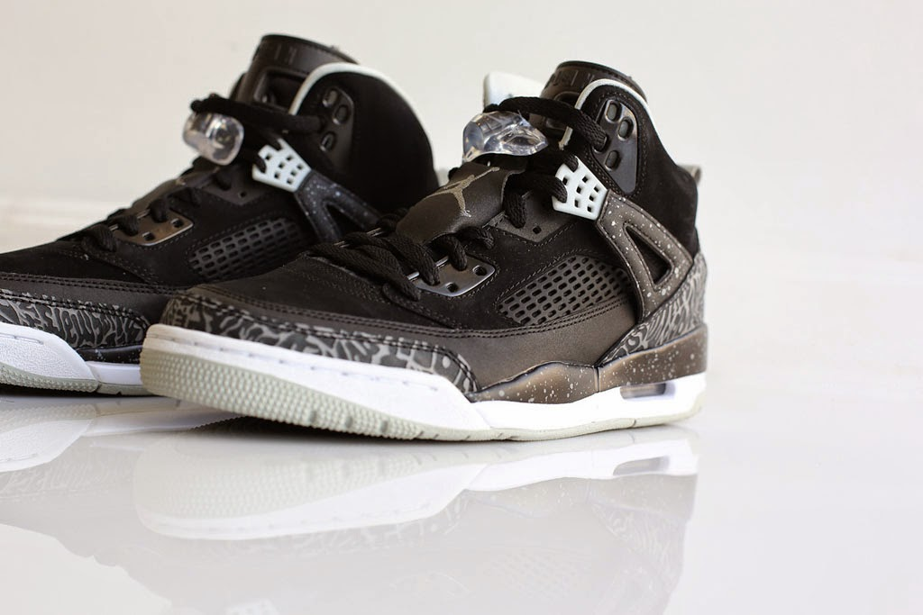 100% authentic 82ef3 3a9c3 Jordan Spiz ike  Oreo  Release Date  05 20 15. Color  Black Cool Grey-Grey  Mist-White Style No.  315371-004. Price   175