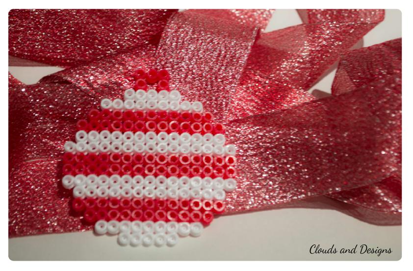 Adviento bloggero dia 8 bolas hama beads