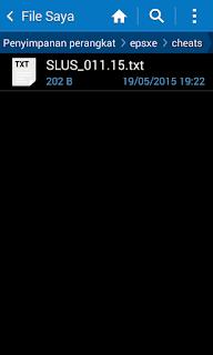Cara Mudah Menggunakan Menu Cheat Codes Pada ePSXe For Android