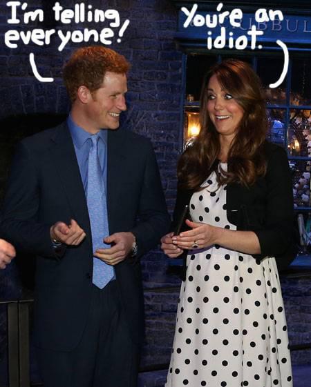 Britishspeak: Prince Harry Accidentally Reveals Royal Baby
