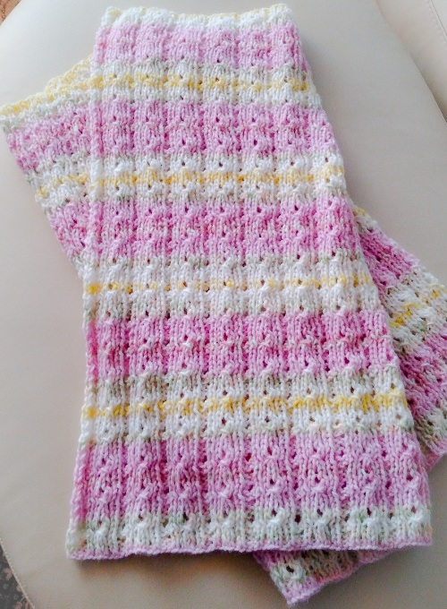 Reversible Baby Blanket - Free Pattern