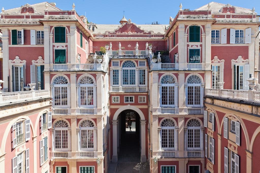 El poder del arte el palacio real o palazzo stefano balbi for Piani di palazzi contemporanei