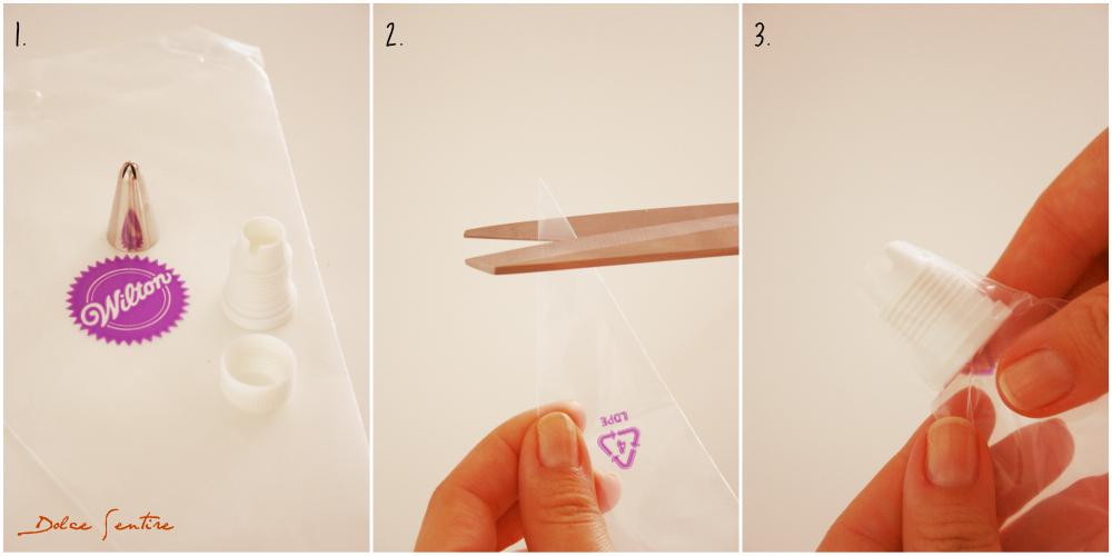 Guía Básica para Principiantes: Mangas pasteleras y conos de papel o celofán {FotoTutorial}  icing piping bags