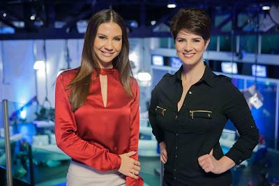 Amanda Klein e Mariana Godoy, mediadoras dos debates da RedeTV! - Crédito/Foto: Artur Igrecias/Divulgação RedeTV!