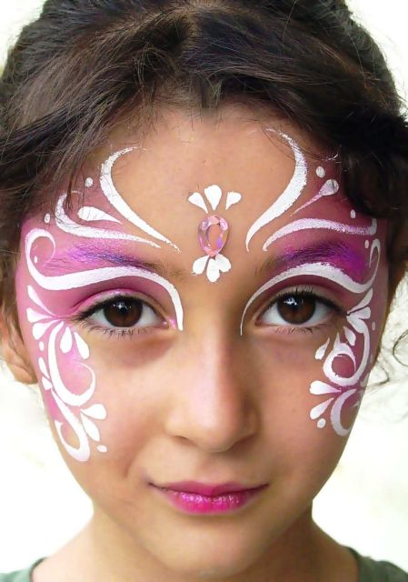 Fairy Face Paint Easy