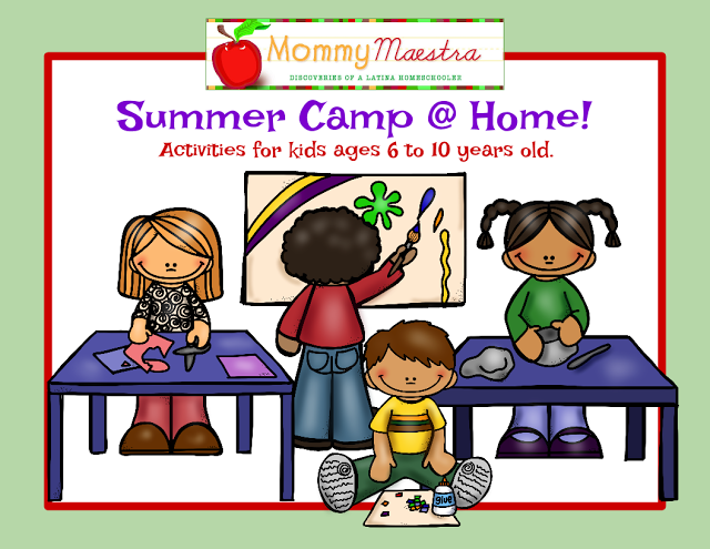 Summer Camp @ Home Calendars