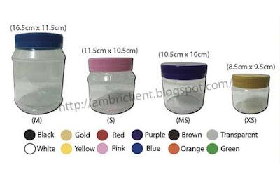 Image result for balang kuih raya plastik