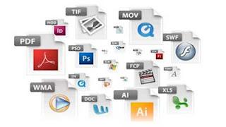 اختصارات و انواع متعددة من امتداد الملفات التى يتم تشغيلها من حاسبك