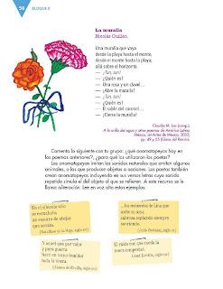 Apoyo Primaria Formación Español 3ro. Grado Bloque II Lección 5 Practica social del lenguaje 5, Escribir narraciones a partir de refranes