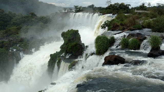 sheer power, size, width- Iguazu is a woman's dream