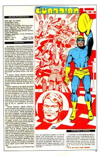 Guardian ficha dc comics