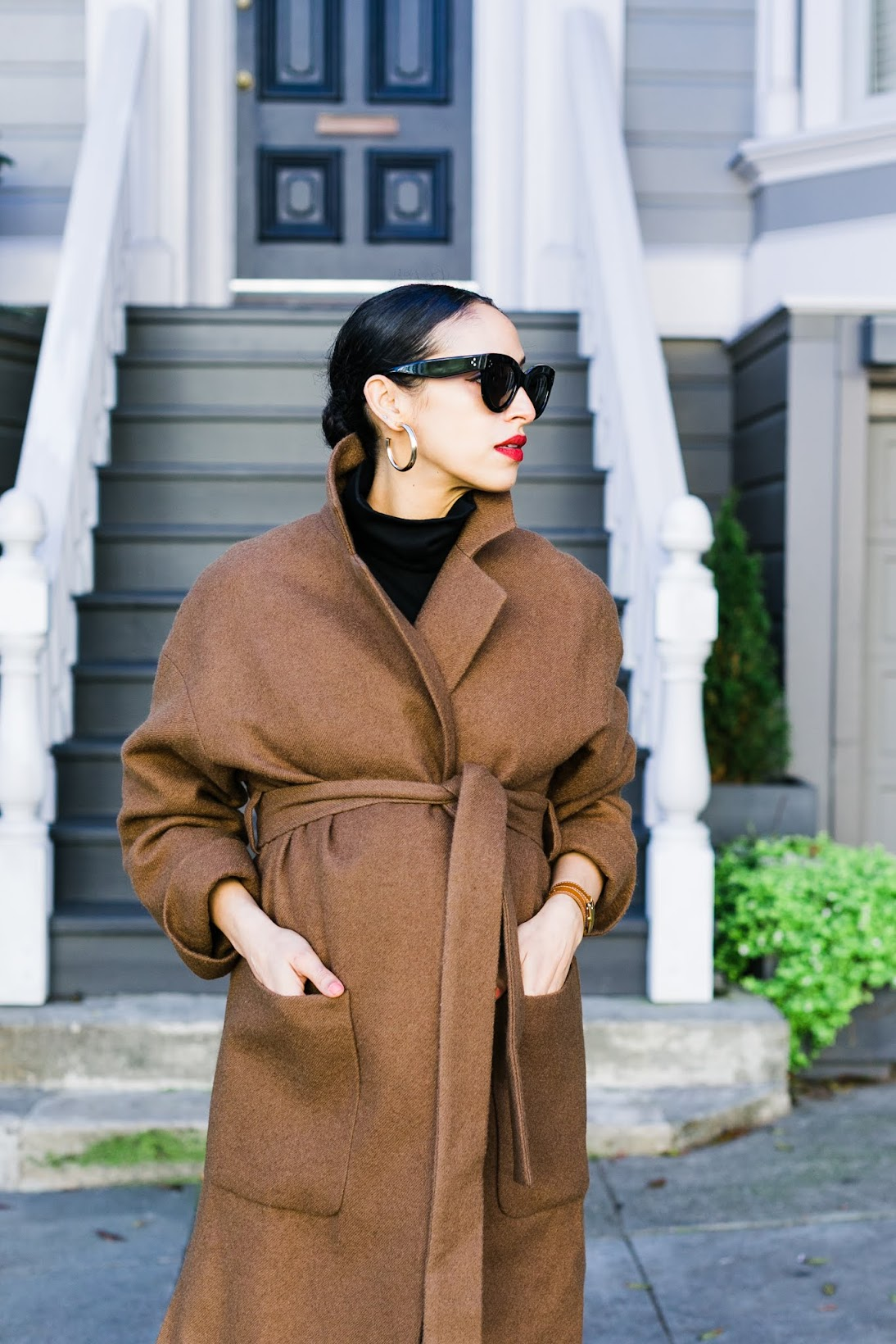 camel wrap coat, pregnancy tips third trimester, zara new season, stay chic during pregnancy, maternity chic, third trimester style, style hacks, style tips