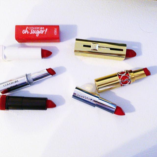 Mon top 5 des rouge à lèvres éditions 2016