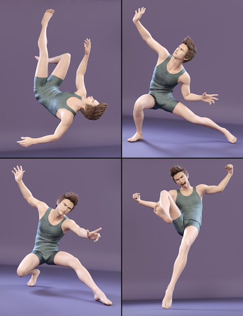 Capsces Poses and Expressions for Kenji 7