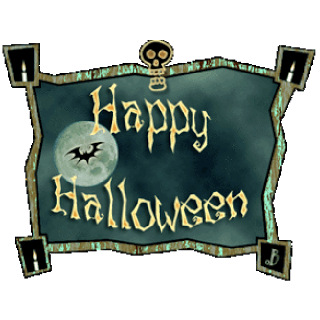 Happy Halloween 2016 black white clipart images