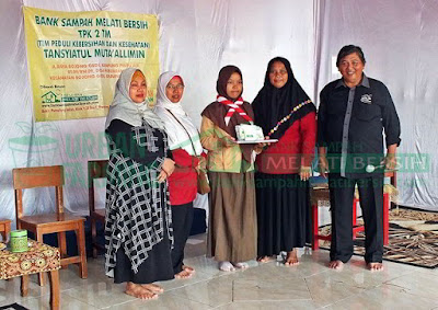 Seremoni Launching Bank Sampah