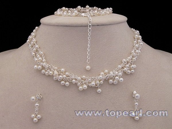 Pearl Bridal Jewelry Sets |The Bridal Club Is All About Bridal