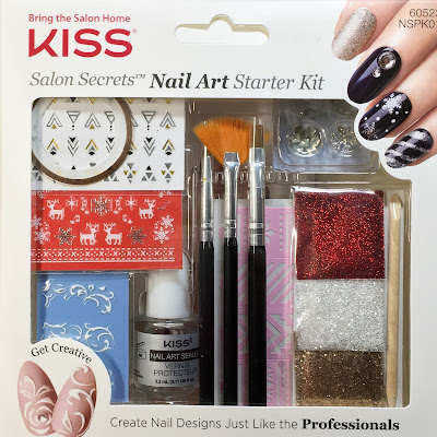 kiss limited edition holiday collection nail art starter kit review