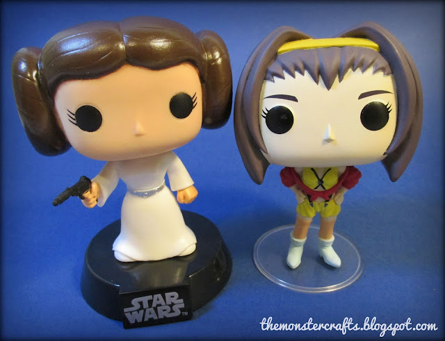 Funko Pop Princess Leia Faye Valentine