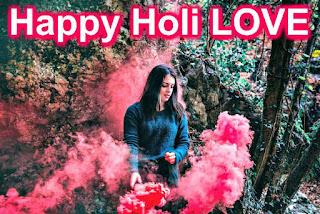 Holi girlfriend Shayari-Images Download 2018