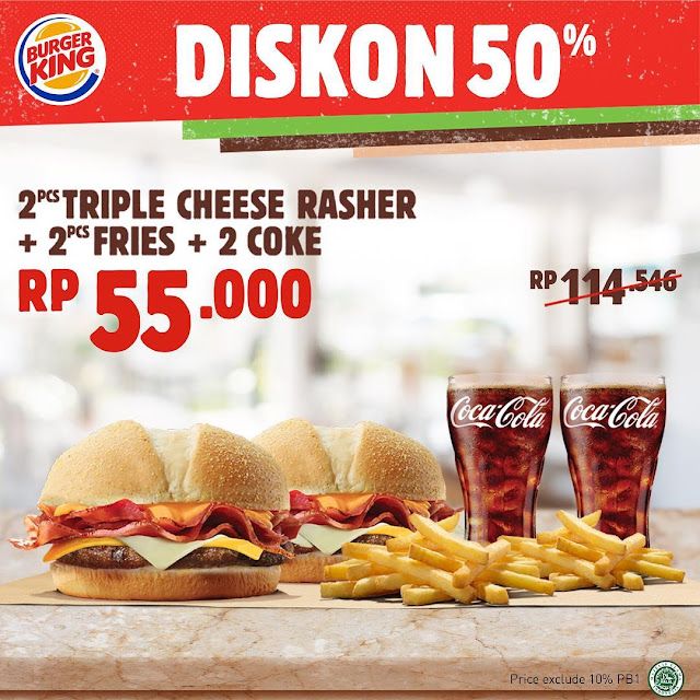 #BurgerKing - #Promo Voucher Kupon Spesial April 2019 (s.d 31 Mei 2019)