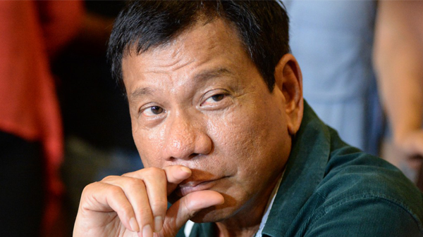 President Rodrigo Duterte reveals secret