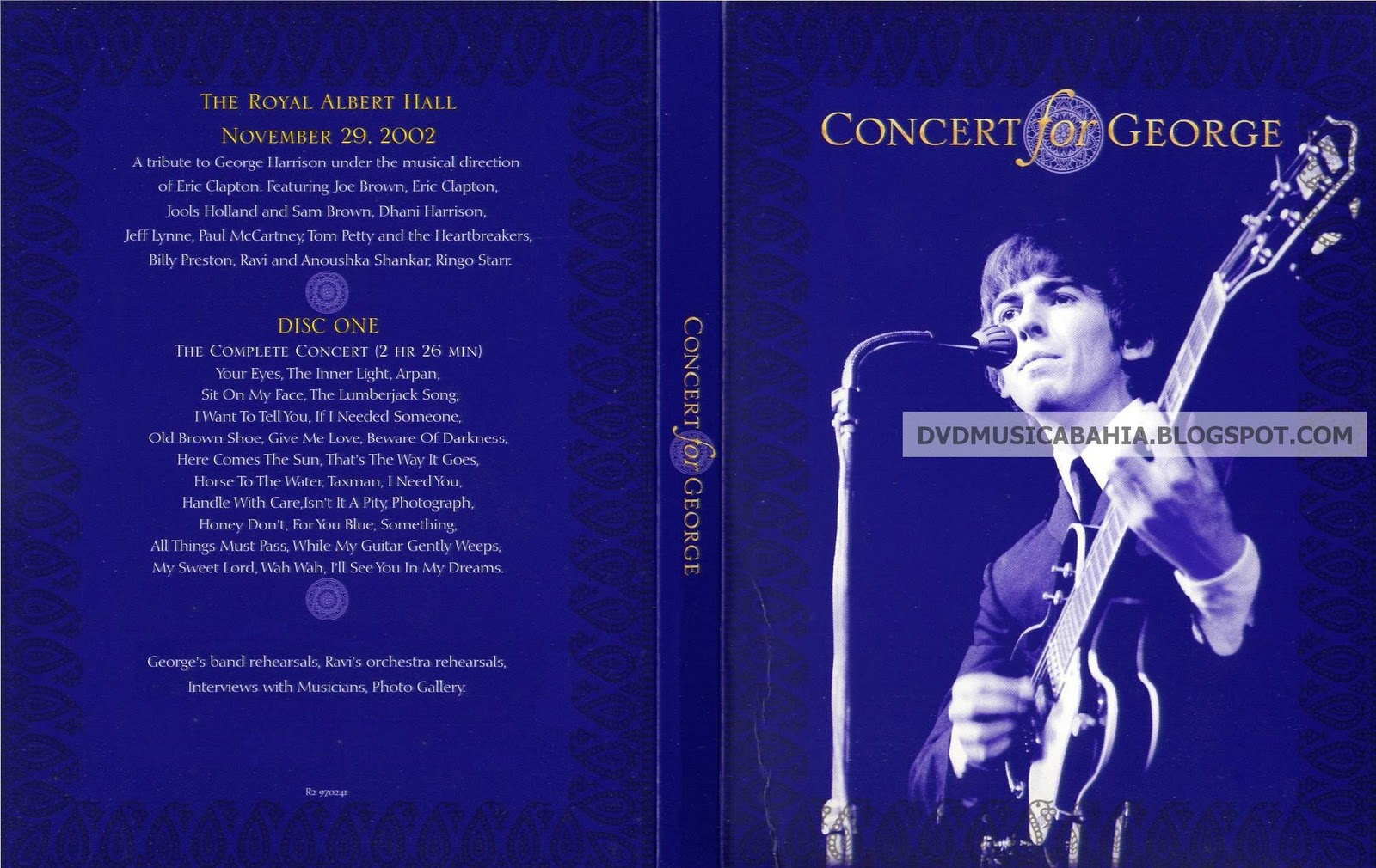 Concert For George 2003 : los mejores dvd de musica y mas george harrison concert for george 2003 ~ Russianpoet.info Haus und Dekorationen