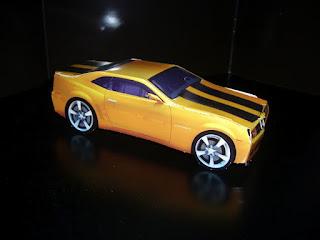 el coche amarillo de transformers