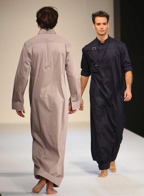 trend baju gamis untuk pria di arab