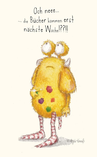 Kinderbuch, Glücksbuch, Loni lacht!, Kommoß, Kinderbuchillustration, Glückspumpf, Pumpf, Veröffentlichung, Erstausgabe, Glückspunkt