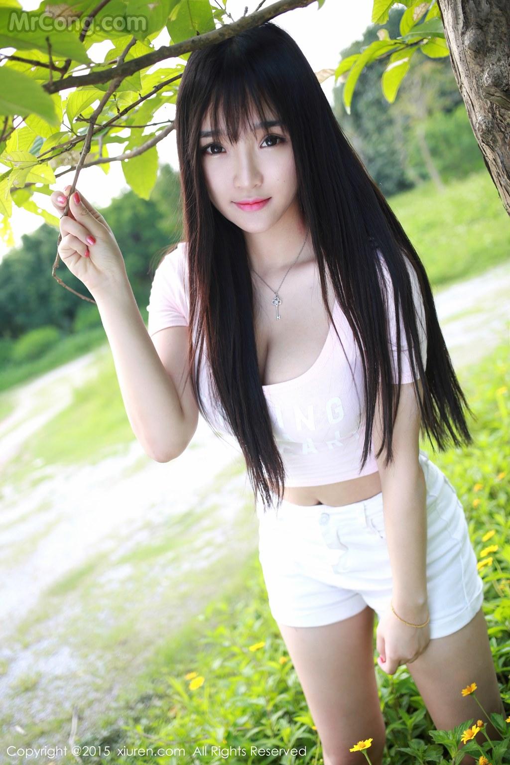 MrCong.com XIUREN No.345 Xia Yao baby 028 - XIUREN No.345: Model Xia Yao baby (夏 瑶 baby) (43 pictures)