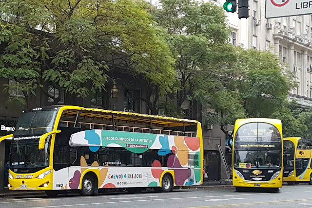 Ônibus Turístico Hop-On Hop-Off em Buenos Aires