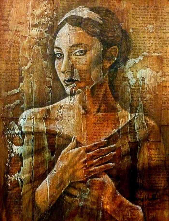 Американский художник. Carrie Vielle