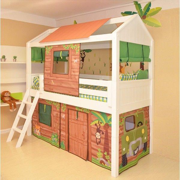 Quartos de crianças com móveis e decorações que são um  ~ Quarto Rustico Infantil