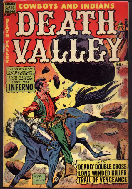 Death Valley  #01 - #06  (1953)  Comic Media