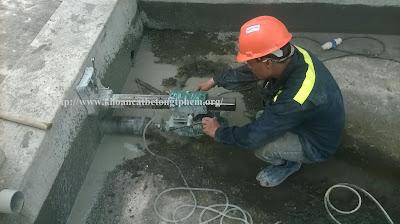 Khoan cắt bê tông tại Hậu Giang