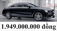 Giá xe Mercedes CLA 250 4MATIC 2020