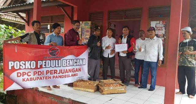 Mendagri: Wajar Jika Ada Logo Partai dalam Bantuan Korban Tsunami Selat Sunda