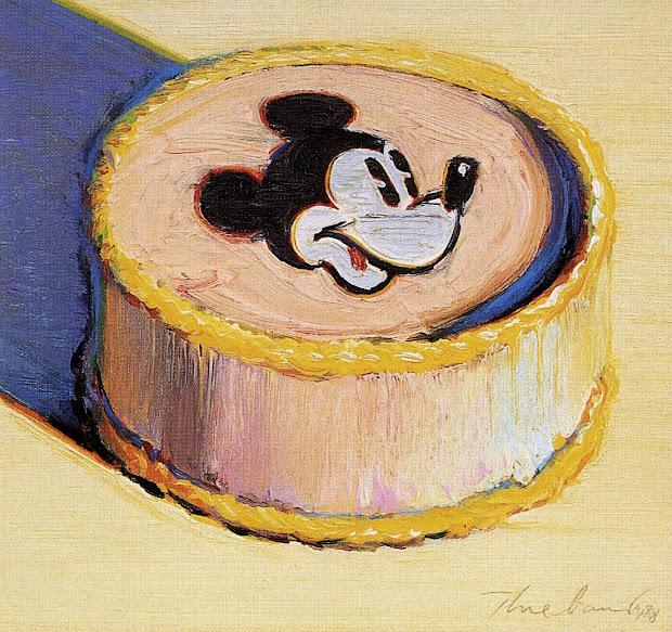 Wayne Thiebaud Mickey Mouse Cake