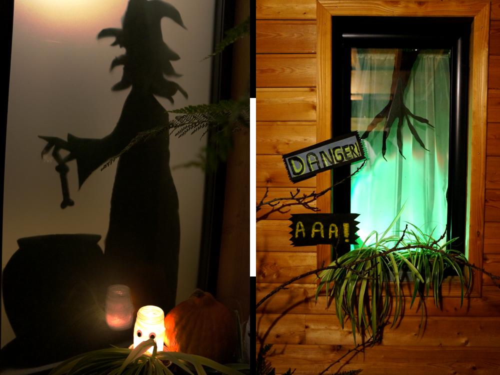 for my little stars diy halloween d co de fen tres et ext rieur de la maison. Black Bedroom Furniture Sets. Home Design Ideas