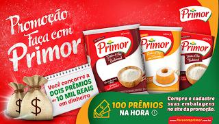 Cadastrar Promoção Farinha Primor 2016