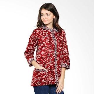 Baju Batik Etnik Modern untuk Wanita Terbaru