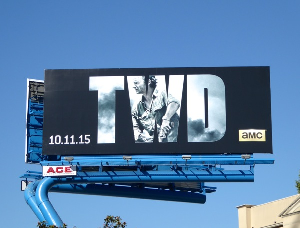 Walking Dead season 6 TWD billboard