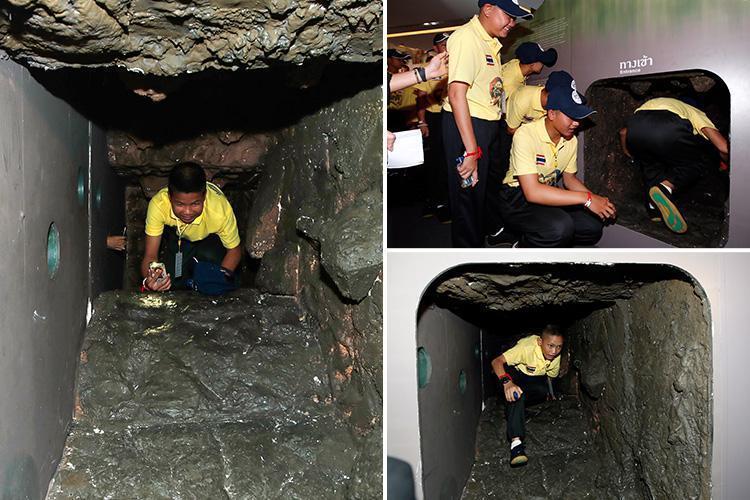 Ταϊλάνδη: Έβαλαν τα παιδιά να ξαναζήσουν τον εφιάλτη σε σπηλιά «ρέπλικα» (βίντεο)