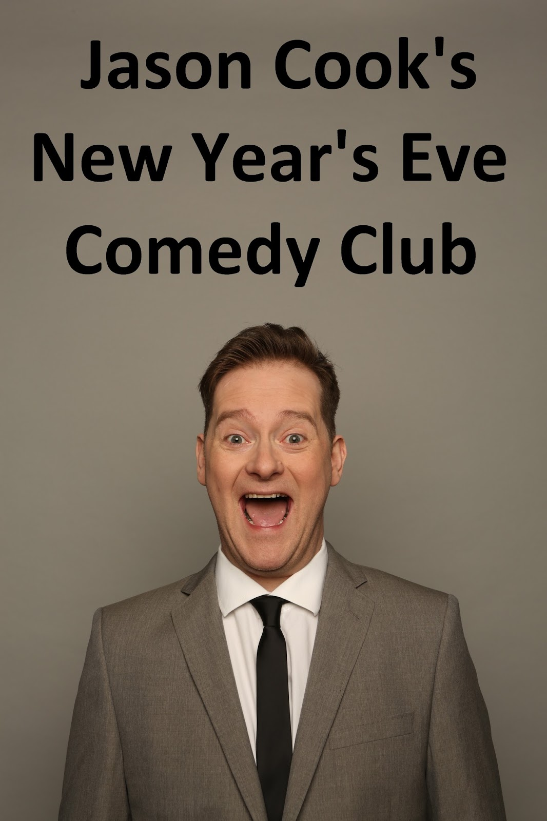 Jason Cooks New Years Eve Comedy Club at The Customs House in South Shields