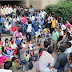 Selected candidates staged Dharna outside UP SSSC office