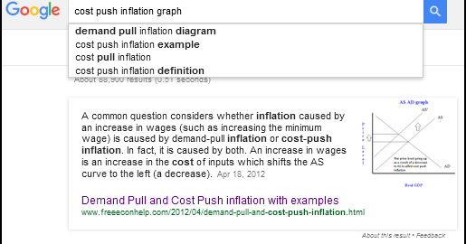 The New Arthurian Economics How To Tell Cost Push From Demand Pull