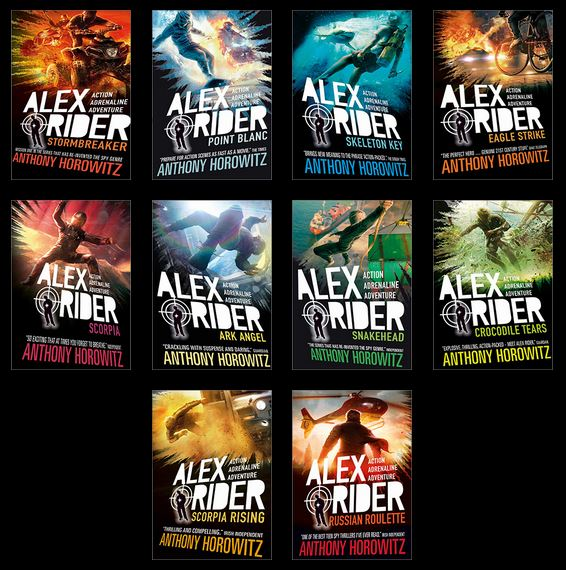Book Cover Series Zone : The book zone box set alex rider series